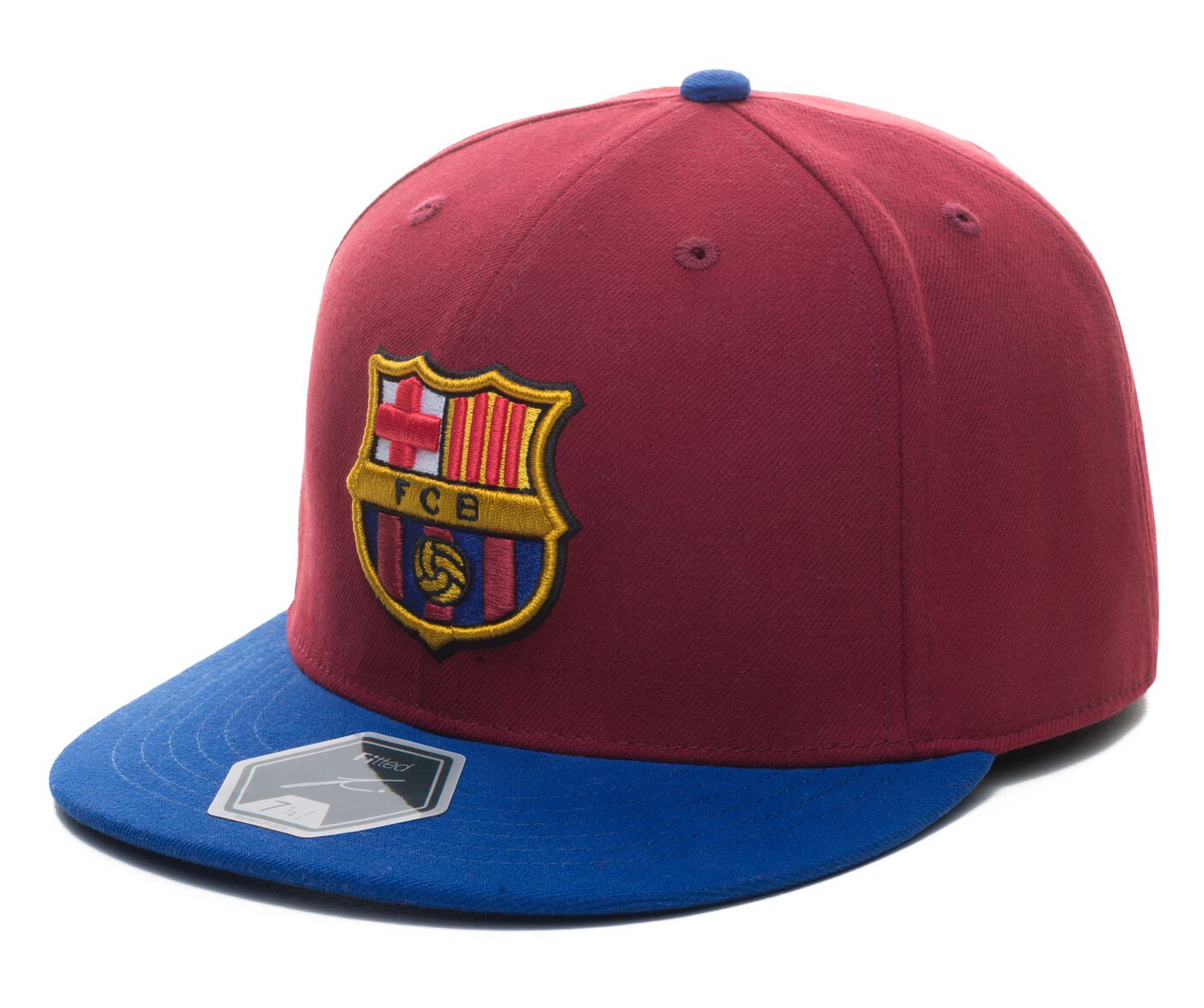 fc barcelona fitted team hat by fi collection 7d96a88b66d
