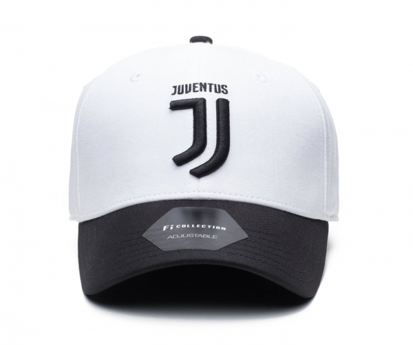 1fd256e85d4 Fi Collection Juventus Officially Licensed Performance Dad Hat White Black